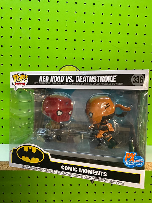 Funko SDCC Exclusive Red Hood vs Deathstroke