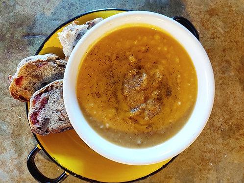 Tuscan Sweet Potato Soup