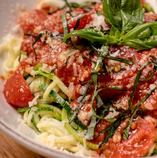 Zucchini Spaghettini Pomodoro