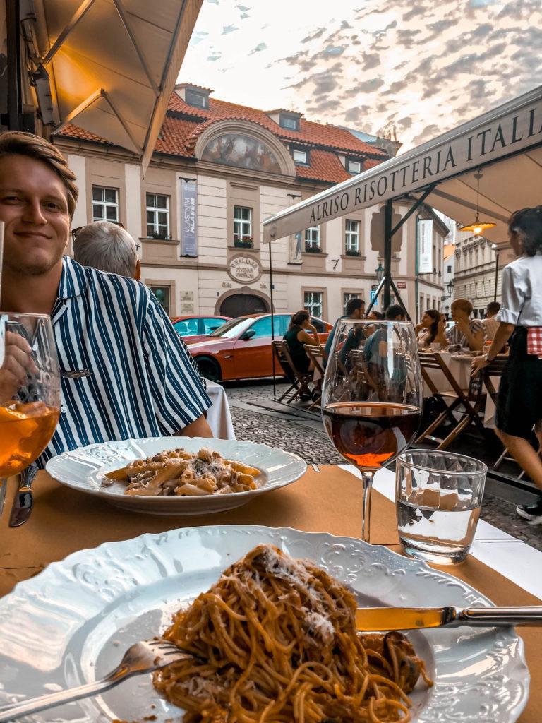 alriso italian restaurant prague