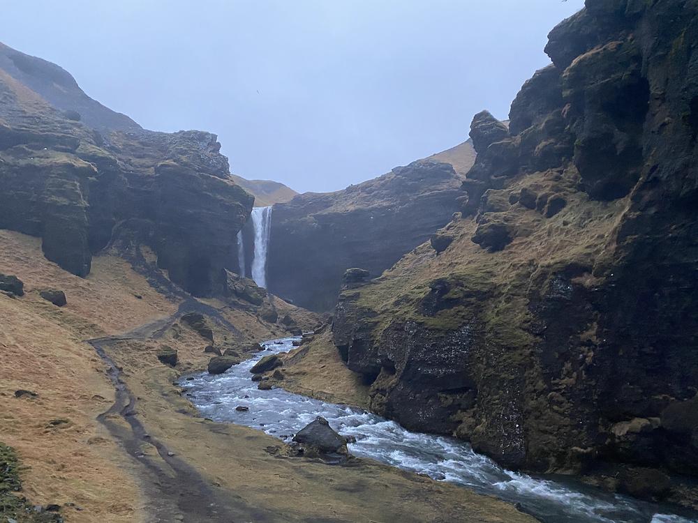 kvernufoss Iceland
