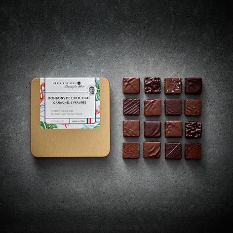 Coffret 48 bonbons de chocolat
