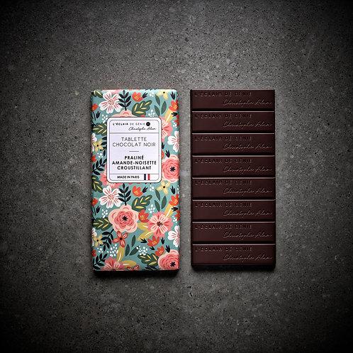 Chocolat noir Praliné Amande - Noisette croustillant