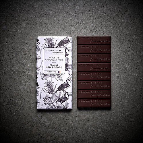 Chocolat noir Praliné Noix de coco