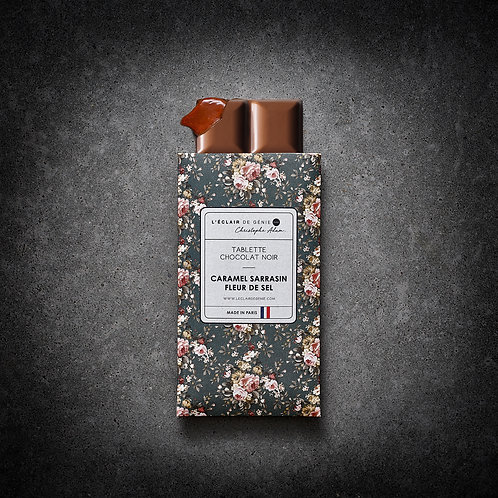 Chocolat noir Caramel Sarrasin Fleur de Sel