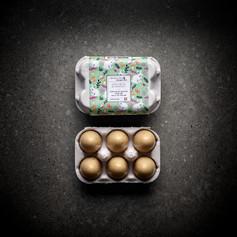 Boîte de 6 mini oeufs Dulcey Praliné