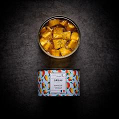 Gateau mangue vanille