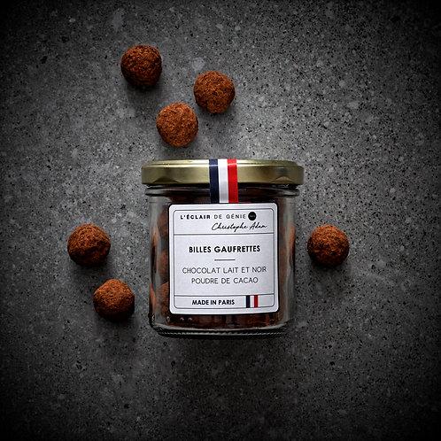 Chocolat Lait & Noir poudre de cacao