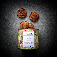 Cookies chocolat noir fleur de sel