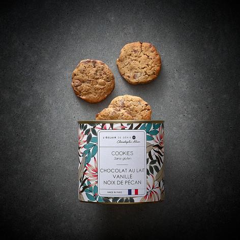 cookies vanille noix de pecan