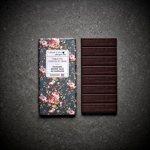 Chocolat noir Caramel Beurre salé au Sarrasin