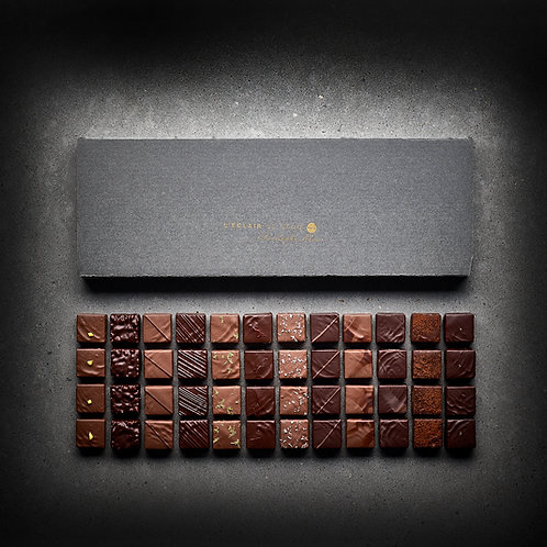 48 Bonbons de chocolat Ganaches & Pralinés