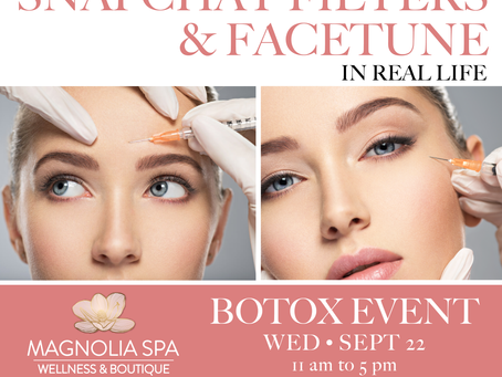 Monthly Botox Event - Wednesday, September 22