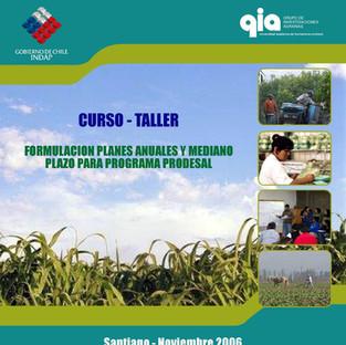 2006 Curso-Taller Planificación PRODESAL Nos