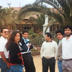 1991 Ciclo VII Curso GIA Punta de Tralca