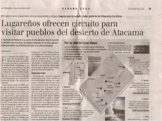 Prensa Red Lican Huasi