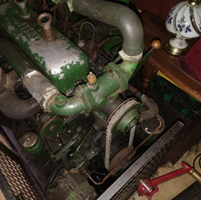 Ruston Hornsby 35hp Engine