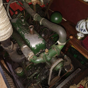 Ruston Hornsby 35hp Vintage Engine