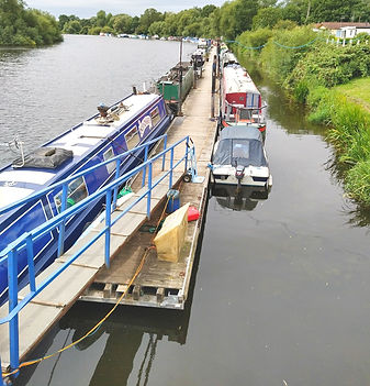 Boat Moorings near Nottingham, Leicester and Derby