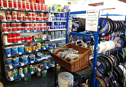 Nottingham Chandlery for Boat Spares at Beeston Marina.