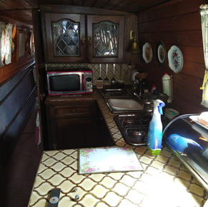 Galley from the Saloon