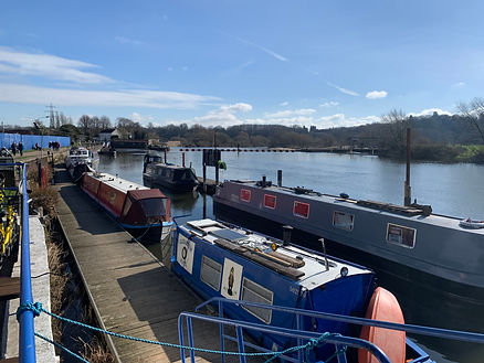 Visitor Moorings at Beeston Marina Nottingham