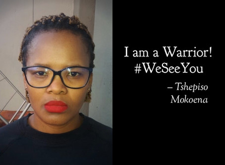 I am the Ambassador for Change! #WeSeeYou #WeHonorYou