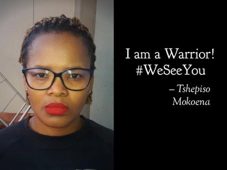I am the Ambassador for Change! #WeSeeYou #WeHonorYou