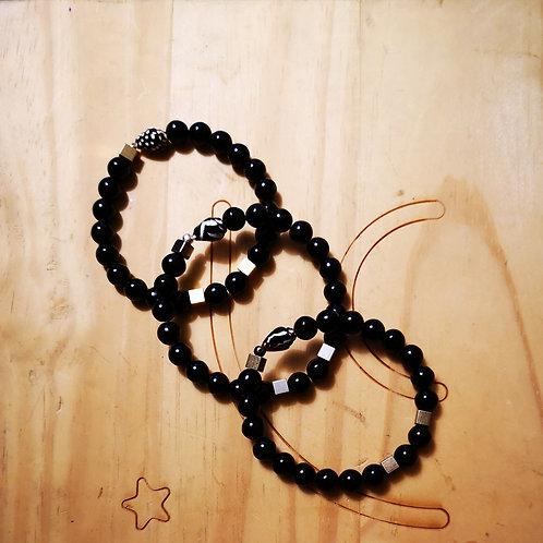 Bracelets pour hommes BOLD Noir