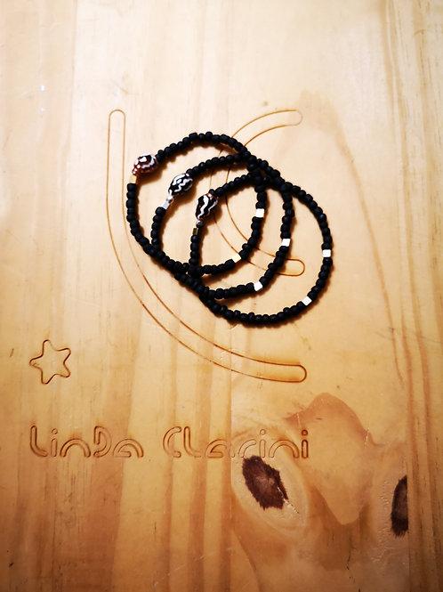 Bracelets pour Hommes BOLD Mat Noir