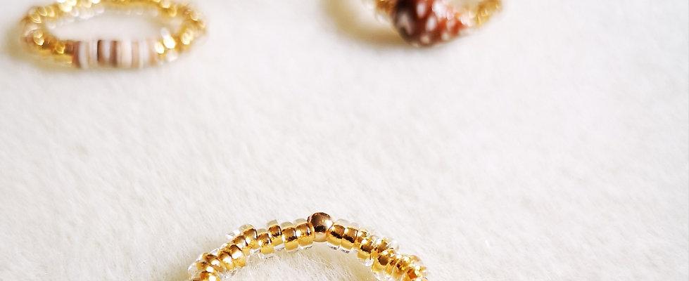 Bagues, anneau et créoles GOLD