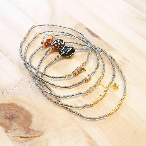 Bracelets LILI et LOLA Gris