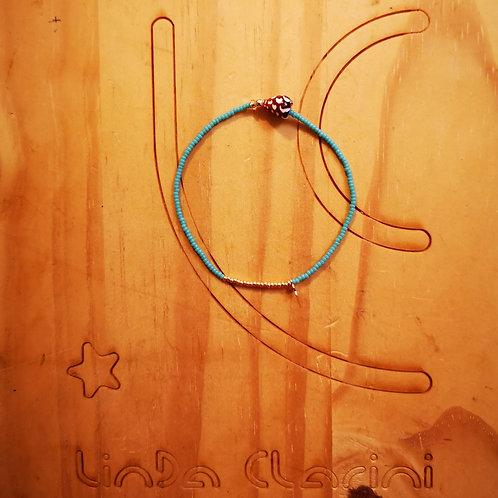 Bracelet LILI STAR Turquoise foncé