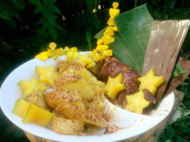 Star Fruit & Sweet Potato