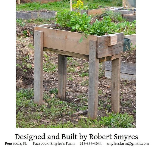1 Raised Garden Bed with Legs