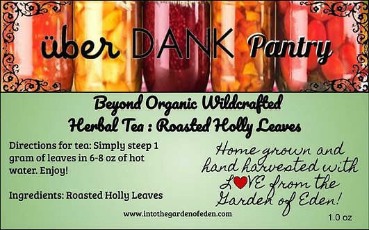 Pure Roasted Holly Herbal Tea