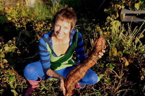 Homegrown Sweet Potato