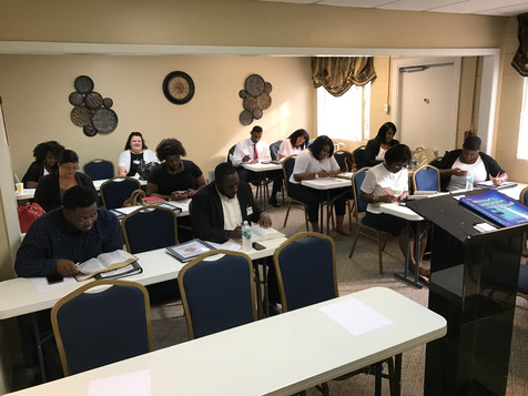 Ministers In Training Hard At Work