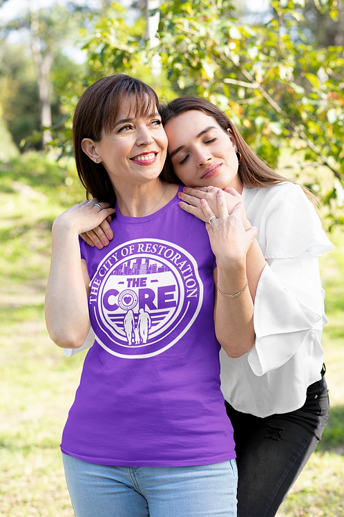 The CORE Official T-Shirt w/ White Logo (Unisex Tee)