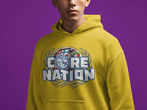 The CORE NATION Official Hoodie Shirt (Unisex Tee)