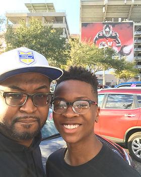 Joshua & I.