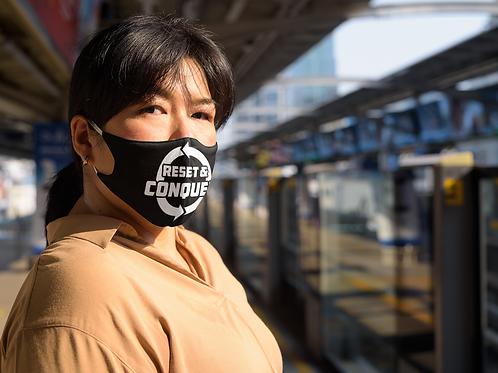 RESET & CONQUER Face Masks
