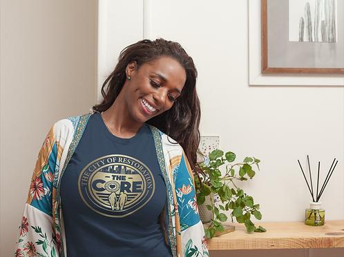 The CORE Official Long Body T-Shirt w/ Black Logo (Unisex Tee)
