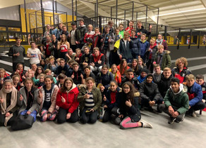 SVM-Jugend besucht die Sprungbude Filderstadt