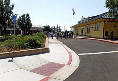 SUISUN-FAIRFIELD TRAIN DEPOT RENOVATION