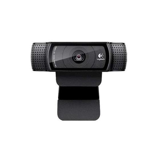 Web Cam USB Full HD 1080P C920 C/Mic HD Pro Preto Logitech