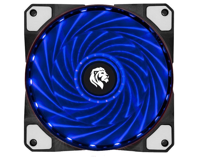 Cooler fan 120mm azul 1600rpm fc1300 - hayom