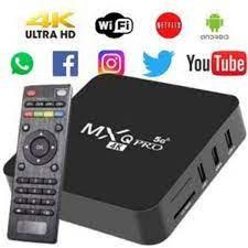 TV Box MXQ Pro 4K 5G HD Android 11.1 8GB/128GB - Inova