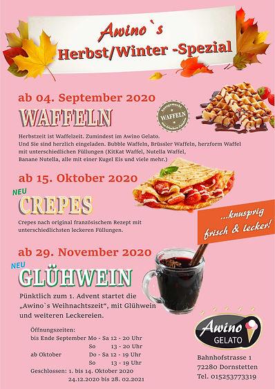 Awino`s Herbst/Winter-Spezial