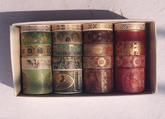 Vintage Washi Tape Set of 5